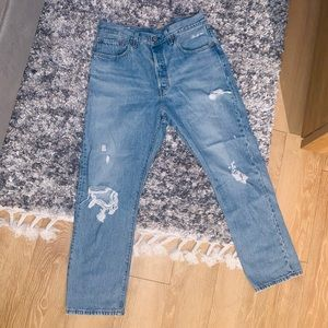 Levi's 501 Originally Cropped Jeans